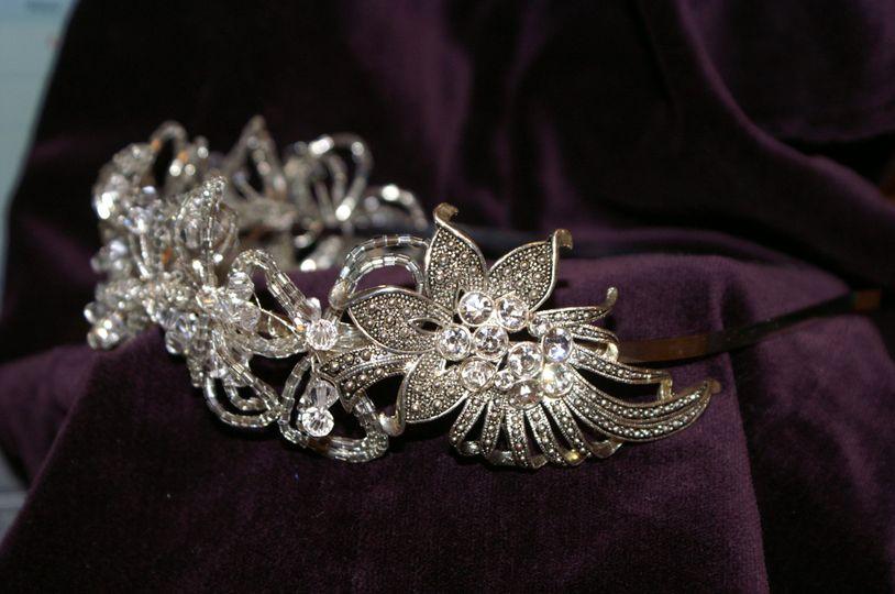 Silver Vintage Tiara
