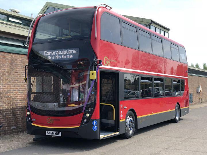 Premium double-decker bus
