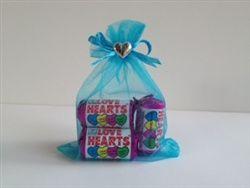 Organza Bag with heart