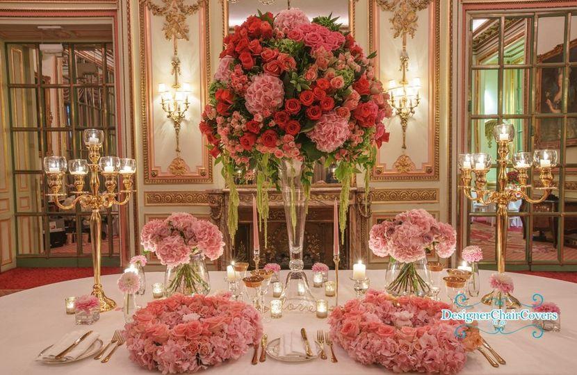 Fresh floral display