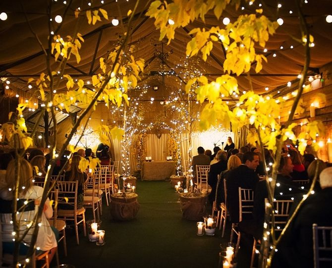 Barn Wedding Hire - Night