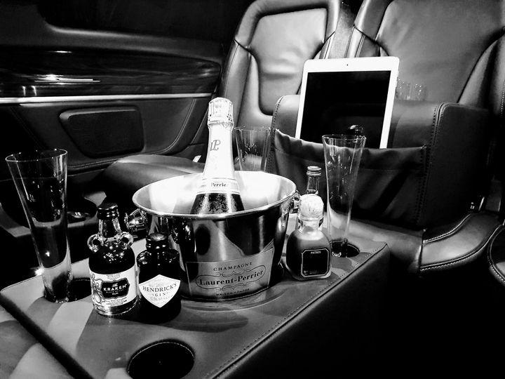 Champagne Set Up