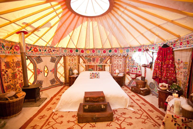 Marquee Hire Hooe's Yurts 10