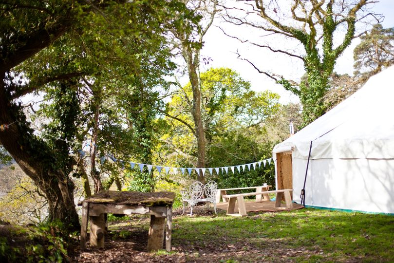 Marquee Hire Hooe's Yurts 13