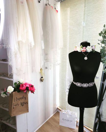 A glimpse inside the boutique
