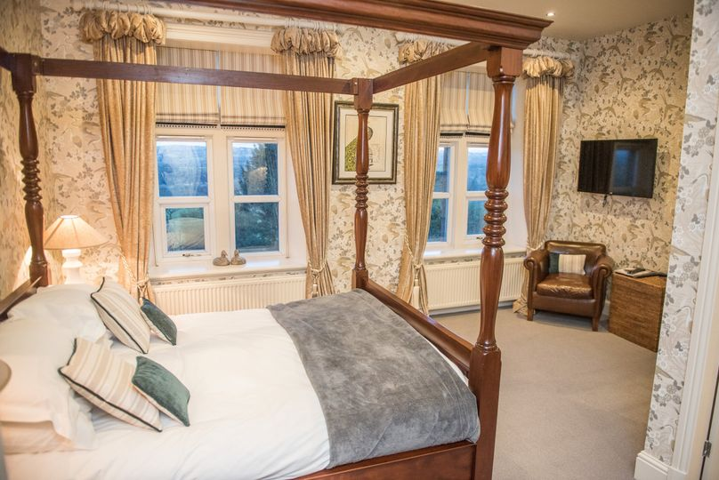 One of 18 bedrooms at The Shireburn