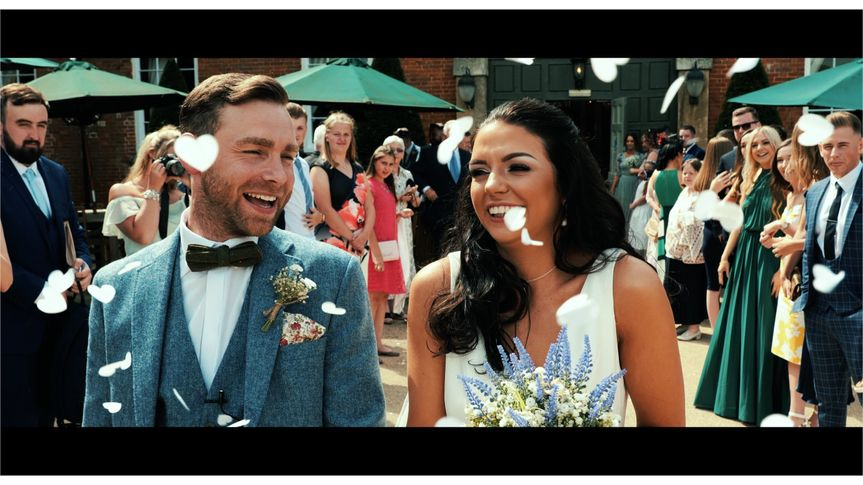 Joy for the happy couple - ALS Videography