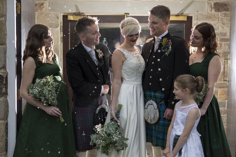 Scottish Themed Wedding