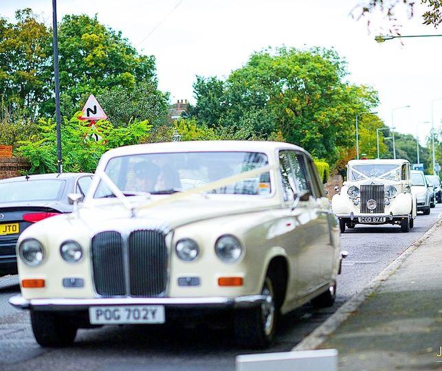 1982 Daimler and 1939 Rolls-Royce Wraith Limousines