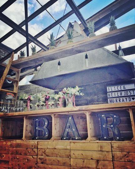 Marquee bar
