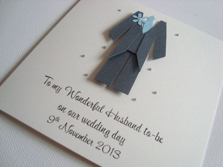 Husband to-be Card