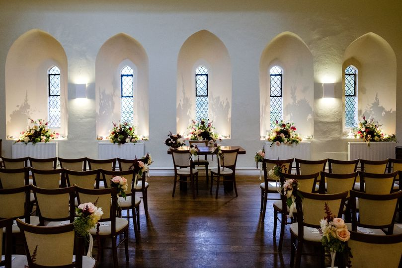 The Lantern Hall at Farnham Castle