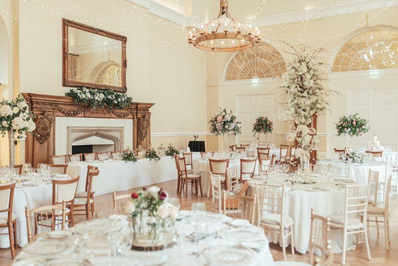 Luxury castle reception