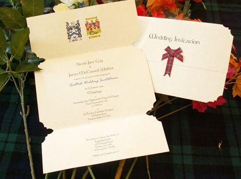 Elegant Celtic invitation