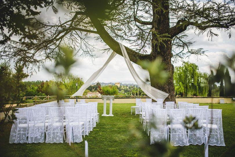 Symbolic Ceremony Villa Tolomei