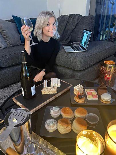 Virtual party at home