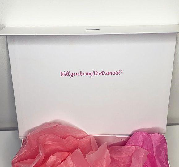 Personalised Bridesmaid Box