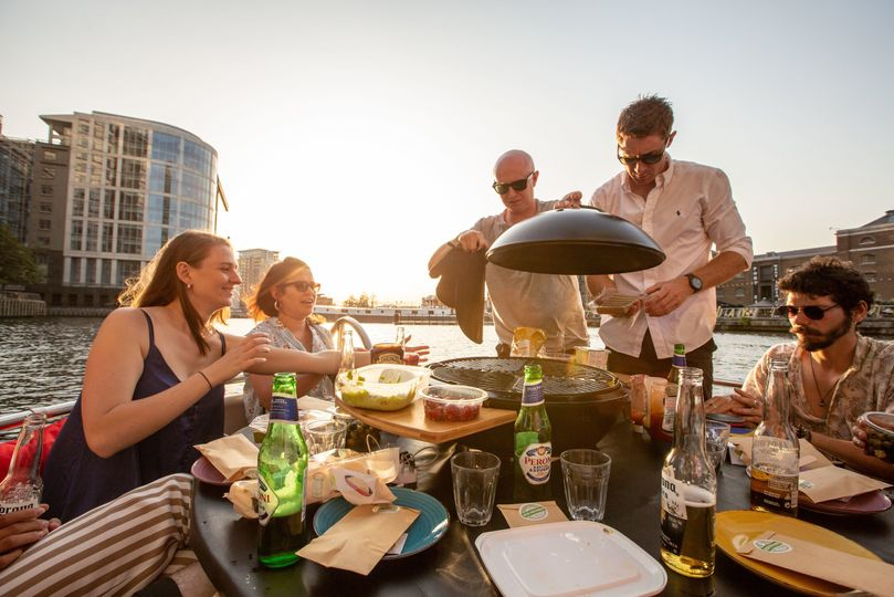 BBQ on the river London