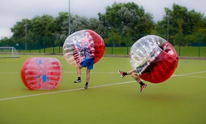 Zorb in Liverpool