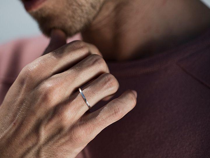Minimal wedding rings