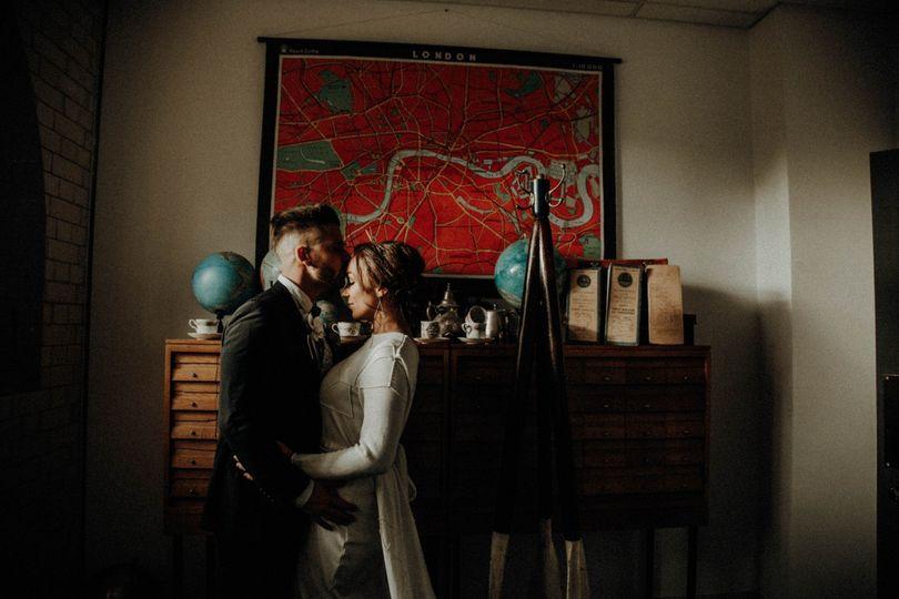 Pumping house wedding