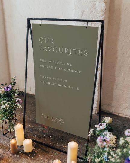 Lockdown Wedding Sign