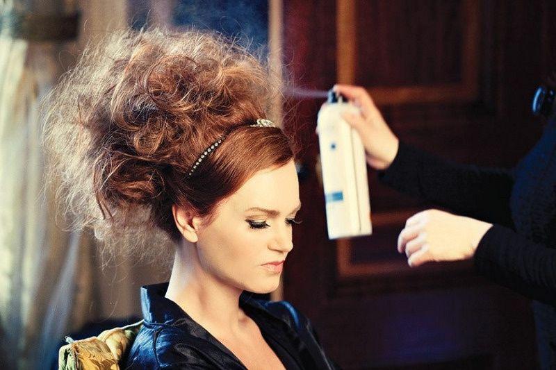 High fashion hair