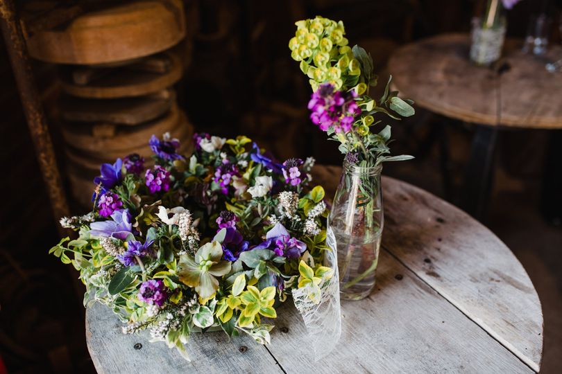 Rustic arrangements