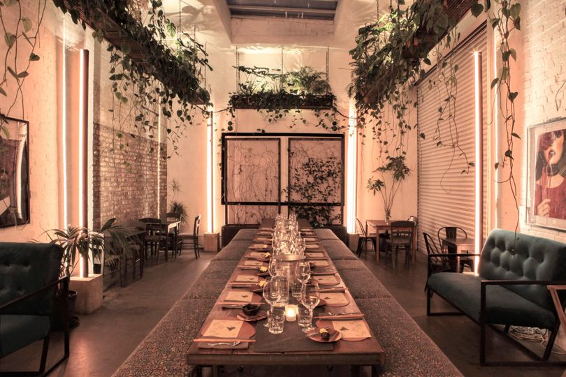 Winter garden private dining