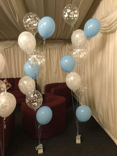 Six Tier balloon decoration