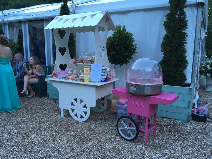 Sweet cart and Candyfloss