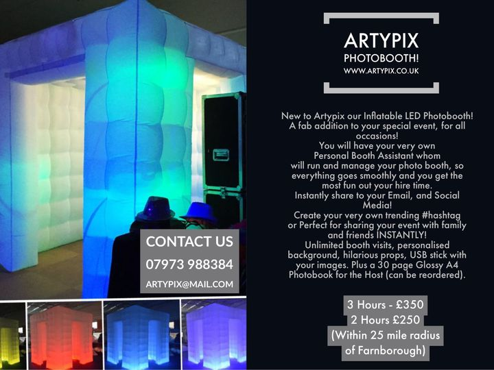 Photo Booths Artypix Inflatable Photo Booth 1