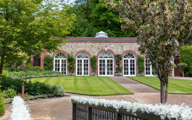 The Garden Room - photo credit Louisa Dettmer Wedding Photography