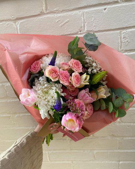 Spray roses bouquet