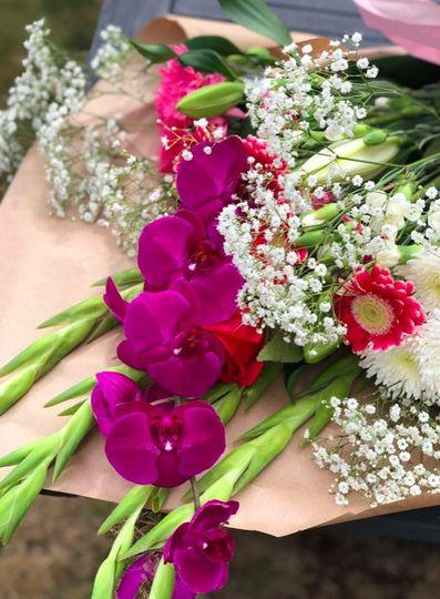 Orchid large bouquet