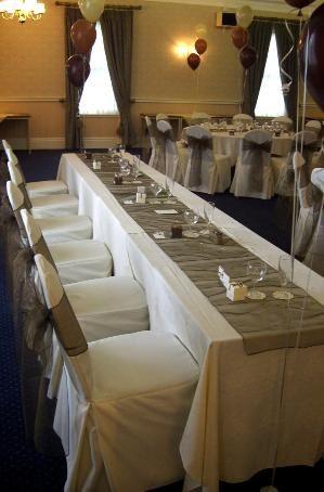 Top table setup