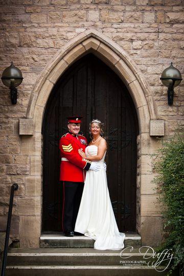 Cloisters Suite Wedding Photo