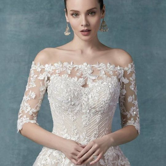 Classic lace gown