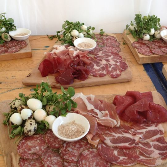 Our rustic platters