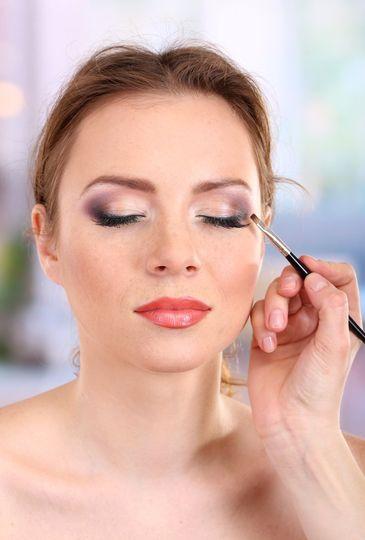 Beautiful mineral makeup