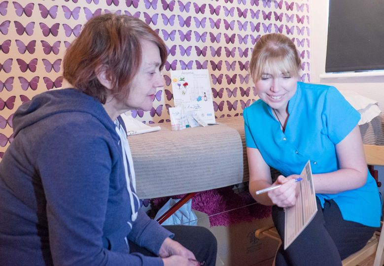 Beauty treatment consultation