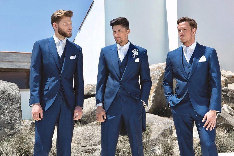 Royal Blue Suit & Tails