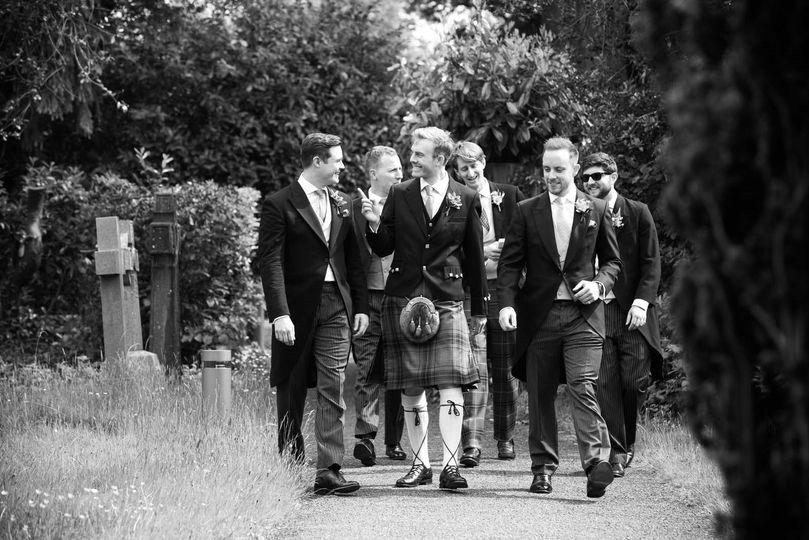Groom and groomsmen - Heni Fourie Photography