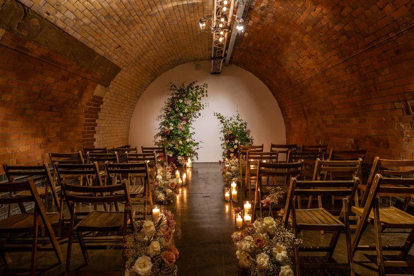 Micro Wedding set-up