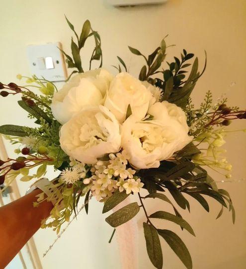 Greek wedding Bouquet