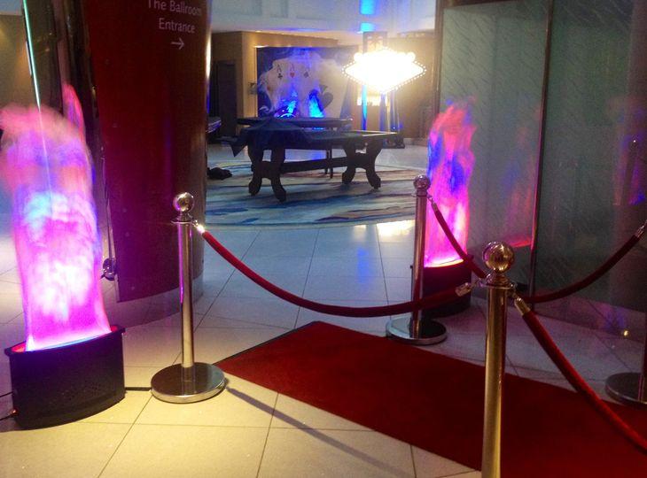 Red Carpet Entrance Wedding