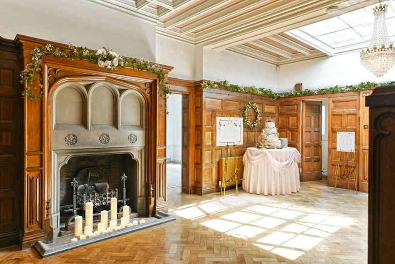 Luxurious interiors