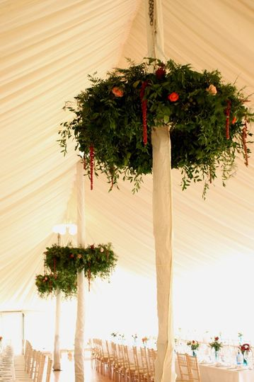 Marquee Foliage Hoops