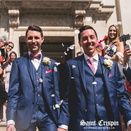 Wedding suits to match