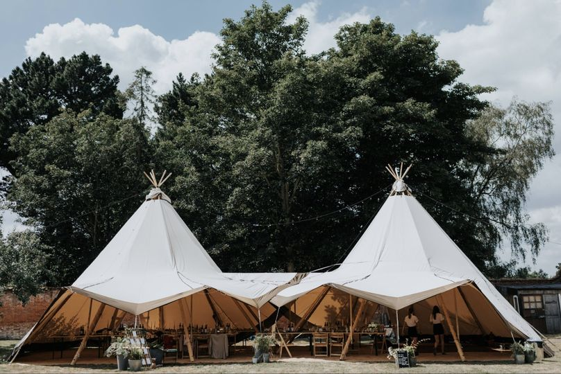 Marquee Hire Love Tipis 24